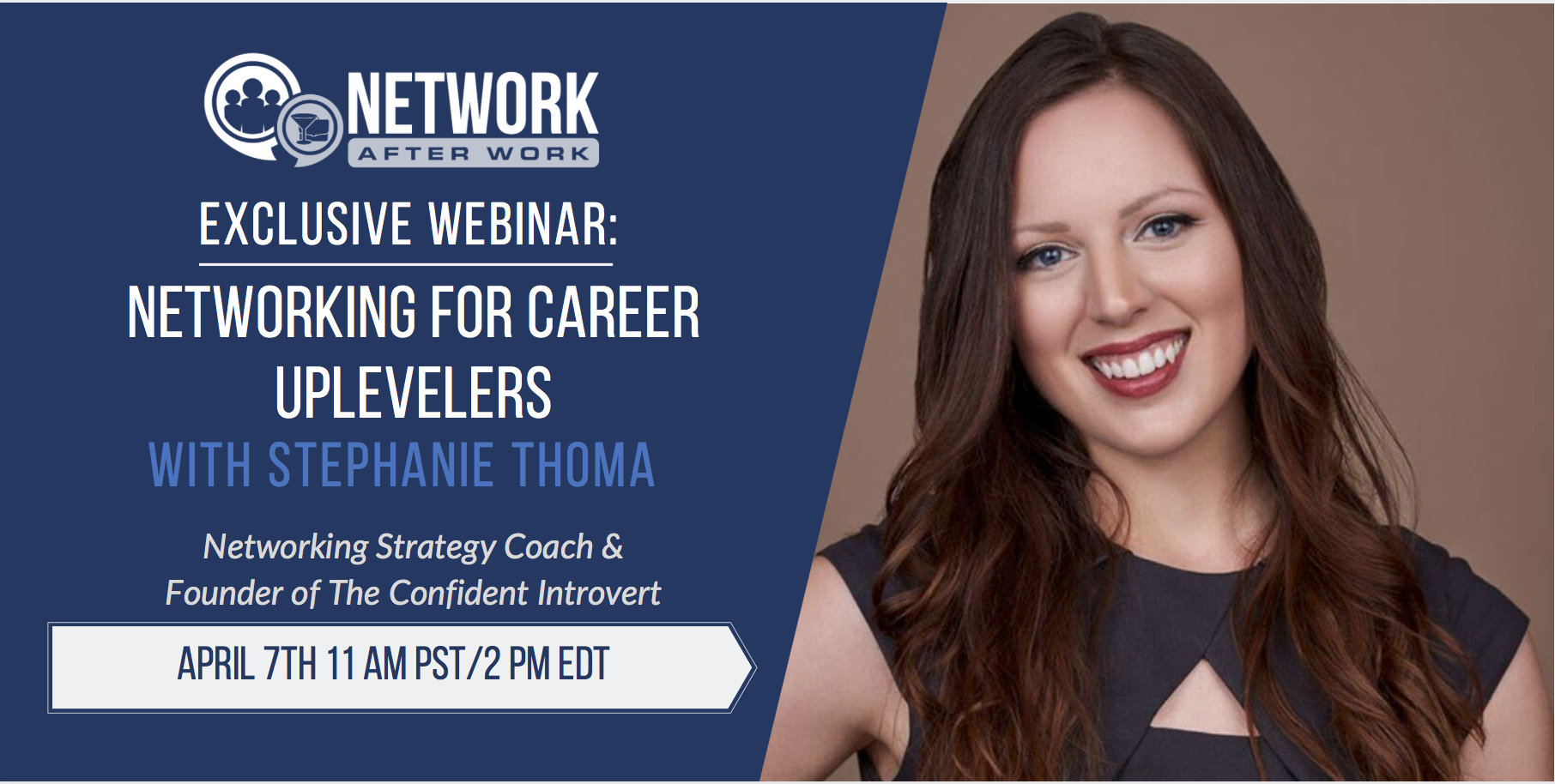 NAW Exclusive Webinar: Networking for Career Uplevelers