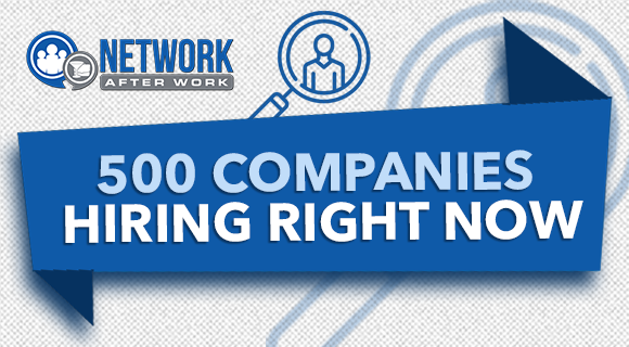 500 Companies Hiring Right Now