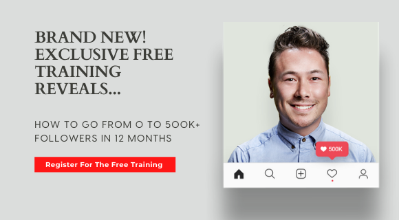 HOW TO GO FROM 0 TO 500K+   FOLLOWERS IN 12 MONTHS